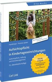Simon Hundmeyer: Aufsichtspflicht in Kindertageseinrichtung, Buch