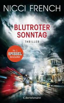 Nicci French: Blutroter Sonntag, Buch