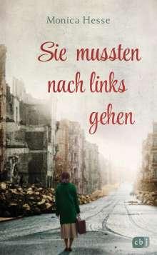 Monica Hesse: Sie mussten nach links gehen, Buch