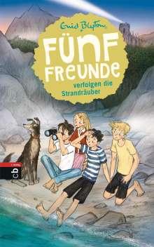 Enid Blyton: Fünf Freunde verfolgen die Strandräuber, Buch