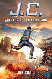 Joe Craig: J.C. - Agent in höchster Gefahr, Buch
