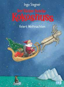 Ingo Siegner: Der kleine Drache Kokosnuss feiert Weihnachten, Buch