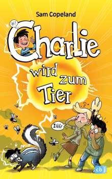 Sam Copeland: Charlie wird zum Tier, Buch