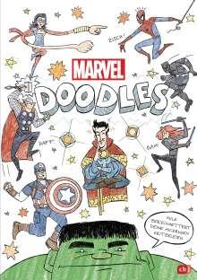 MARVEL DOODLES - Superhelden-Kritzelspaß, Buch
