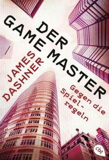 James Dashner: Der Game Master - Gegen die Spielregeln, Buch