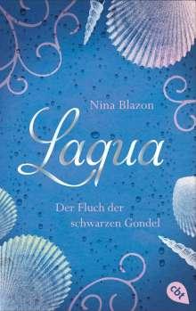 Nina Blazon: Laqua - Der Fluch der schwarzen Gondel, Buch