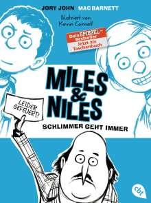 Jory John: Miles & Niles - Schlimmer geht immer, Buch