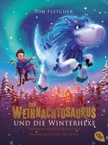 Tom Fletcher: Der Weihnachtosaurus und die Winterhexe, Buch