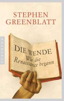 Stephen Greenblatt: Die Wende, Buch