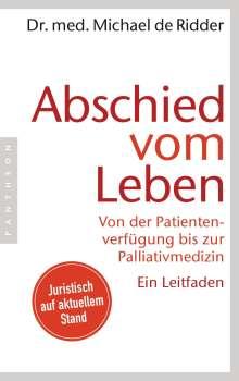 Michael de Ridder: Abschied vom Leben, Buch