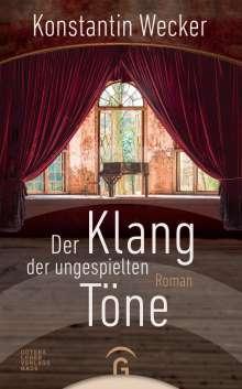 Konstantin Wecker: Der Klang der ungespielten Töne, Buch