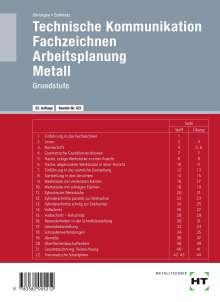 Hans Christgau: Technische Kommunikation. Fachzeichnen. Arbeitsplanung, Buch