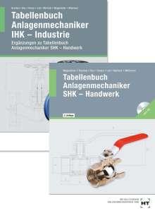 Markus Bruckes: Paketangebot Tabellenbuch Anlagenmechaniker SHK - Handwerk + Tabellenbuch Anlagenmechaniker IHK-Industrie, Buch