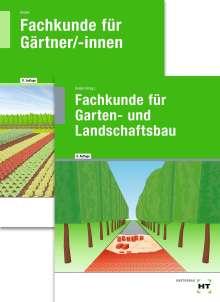 Paketangebot Fachkunde für Gärtner + Fachkunde für Garten- und Landschaftsbau, Buch