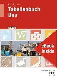 Balder Batran: eBook inside: Buch und eBook Tabellenbuch Bau, Buch