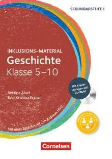 Bettina Alavi: Geschichte Klasse 5-10. Buch mit CD-ROM, Buch