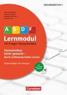 Karin Bornewasser: 10-Finger-Tastschreiben (2. Auflage). Kopiervorlagen mit Lösungen und CD-ROM, Buch