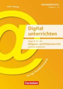 Sönke Zankel: Apps & Co. im Religions- und Ethikunterricht gezielt einsetzen - Klasse 5-10, Buch