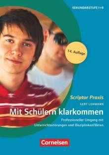 Gert Lohmann: Mit Schülern klarkommen, Buch