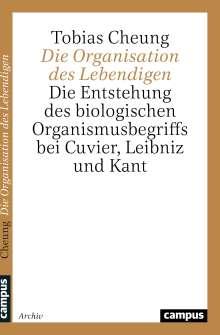 Tobias Cheung: Die Organisation des Lebendigen, Buch
