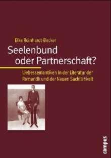 Elke Reinhardt-Becker: Seelenbund oder Partnerschaft?, Buch