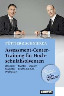 Christian Püttjer: Assessment-Center-Training für Hochschulabsolventen, Buch