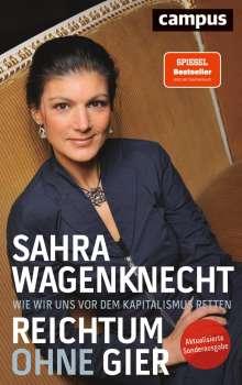 Sahra Wagenknecht: Reichtum ohne Gier, Buch
