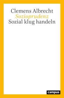 Clemens Albrecht: Sozioprudenz, Buch