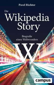 Pavel Richter: Die Wikipedia-Story, Buch