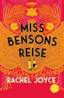 Rachel Joyce: Miss Bensons Reise, Buch