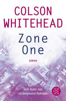 Colson Whitehead: Zone One, Buch