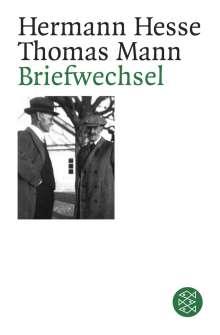 Hermann Hesse: Briefwechsel Hermann Hesse / Thomas Mann, Buch