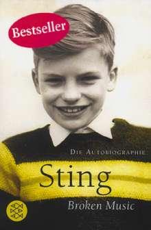 Sting: Broken Music, Buch