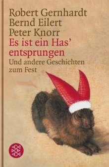 Robert Gernhardt: Es ist ein Has' entsprungen, Buch