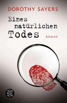 Dorothy Sayers: Eines natürlichen Todes, Buch