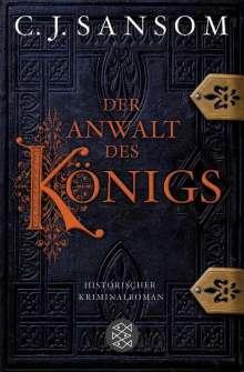 Christopher J. Sansom: Der Anwalt des Königs, Buch