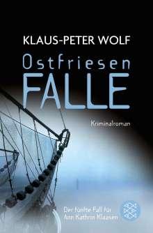Klaus-Peter Wolf: Ostfriesenfalle, Buch