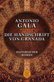 Antonio Gala: Die Handschrift von Granada, Buch