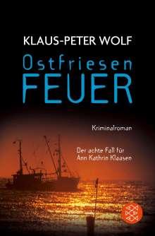 Klaus-Peter Wolf: Ostfriesenfeuer, Buch
