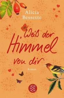Alicia Bessette: Weiß der Himmel von dir, Buch