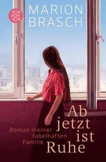 Marion Brasch: Ab jetzt ist Ruhe, Buch