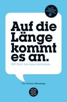Florian Meimberg: Auf die Länge kommt es an, Buch