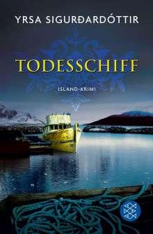 Yrsa Sigurdardóttir: Todesschiff, Buch