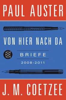 Paul Auster: Von hier nach da, Buch