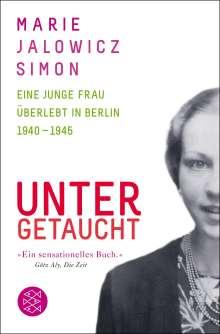 Marie Jalowicz Simon: Untergetaucht, Buch