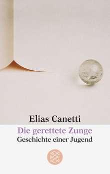 Elias Canetti: Die gerettete Zunge, Buch