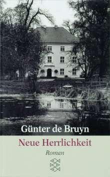 Günter de Bruyn: Neue Herrlichkeit, Buch