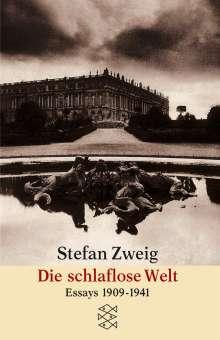 Stefan Zweig: Die schlaflose Welt, Buch