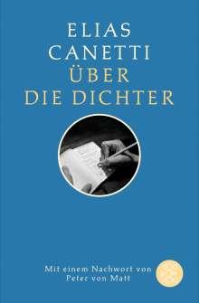 Elias Canetti: Über die Dichter, Buch