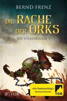 Bernd Frenz: Die Rache der Orks, Buch
